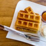 Fresh waffles served each day!!!!