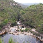 Poco do Diabo Waterfall Foto