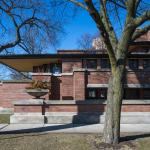 Robie House, Frank Lloyd Wright, 1909. Image by Tom Rossiter Photography.