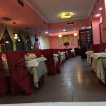 Interior del comedor del Buda Feliz.