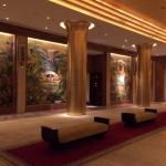 Lobby of the Faena Hotel