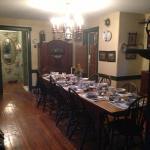 Historic 1760 Dining room