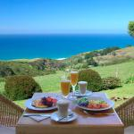 Enjoy breakfast on your private balcony