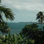 View over Hilo Bay from verandah