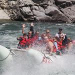 Thompson River power rafting