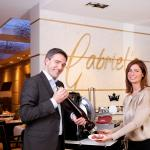 Gastgeber Anja & Kay Fenneberg im Hotelrestaurant Gabriel's