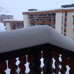 Vue du balcon d'une chambre standard