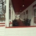 The Great Porch at the Inn