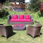 En été, notre jardin : La Vinguette !