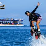 Flyboard Beach Activity in Mexico