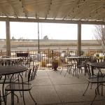 Outdoor dining as well.