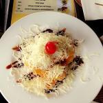 "Light meal ""Pisang Goreng"""