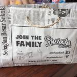Swich take away bag