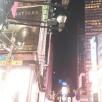 Night Times Square afbeelding