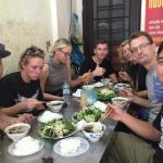 Bun Cha time in Hanoi