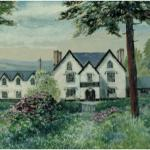 Water Color of the Severn Arms Painted by a Guest