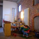 Kinder- und Spielbereich im Obergeschoss