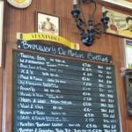 Brillant beer bar.