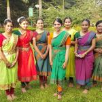Indian youth dancers at Cubbon Park.
