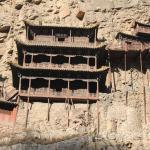 Obraz Hengshan Hanging Temple (Xuankong si)