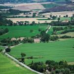 San Fabiano and Siena skyline