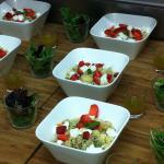 Salade type du salon