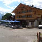 Grindelwald - Hotel Wetterhorn - view of new hotel