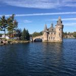 Boldt Castle and Yacht House-bild