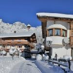 Das Land- und Jagdhaus im Winter