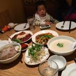 As a family of four including 2 small kids, we ordered a marinated meat platter (not shown), pho