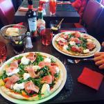Pizza burrata supplément jambon de parme