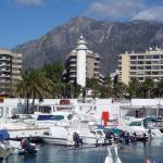 Jachthafen von Marbella Foto