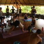 Yoga at La Cusinga Lodge