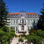 Front Facade of Pestana Palace Lisboa