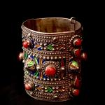 Berber Cuff bracelet, at Africa and Beyond in La Jolla, San Diego CA
