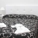 Una habitación simple doble
