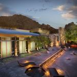Spa Meditation Courtyard