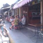 puerto morales restaurant opposite town square dona trinys perro lover