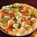 Pizza Salmone & Scampi