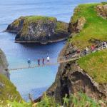 Carrick-A-Rede Rope Bridge Foto