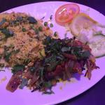 Lamb chops with special fried rice