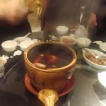 盜汗雞 (I only drink the soup, friends say the meat was too dried?)