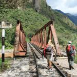 Hike to Aguas Calientes.