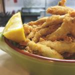 Boquerones frito. (Deep fried whitebait)