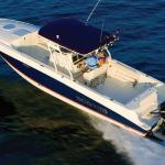 Offshore fishing charter boats available for rental near the resort
