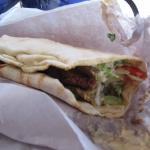 Falafel gyro