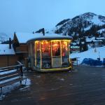 Die Bar im Hotel Jungfrau.