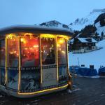 Einfach cool, die Bar vom Hotel Jungfrau.