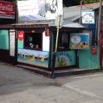 We are located on the corner of Pescador Drive & Caribena Street