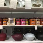 Ventes de thés et chocolats parfumés